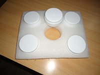 Medical Bottles Packaging In Foam