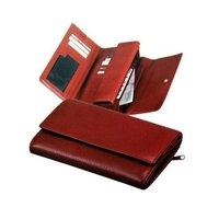 Ladies Red Wallets