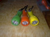 Rubber LED Flashight With Super Brightness