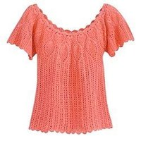 Crochet Ladies Tops