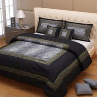 Brocade Silk Bed Cover
