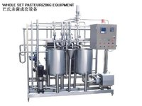 Milk Juice Pasteurizing Equipment