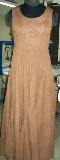Ladies Tape Yoke Dress