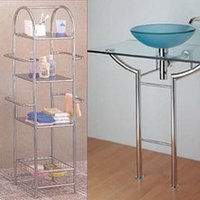 Stainless Steel Bathroom Rack