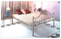 Designer Stainless Steel Bed