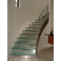 Elegant Stainless Steel Glass Railing
