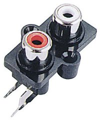2 RCA Sockets