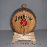Oak Wood Bar Barrels