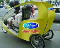Solar Rickshaw