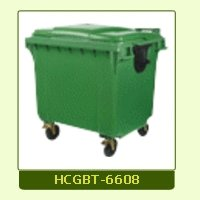 Wheels Mounted Garbage Trolley