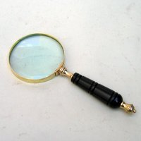 Brass Magnifying Lens