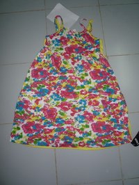 Girls Two Pack Floral Top
