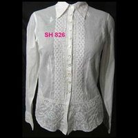 Elegant Full Sleeves Ladies Shirt