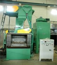 Tumblast Machinery With Metallic Belt