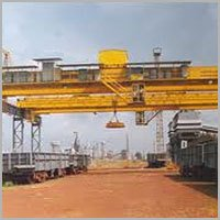 Double Girder Magnet Crane