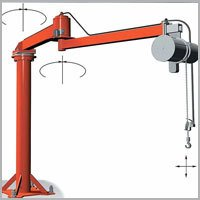Hand Operated Jib Crane