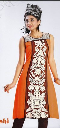 Hand Embroidery Kurti