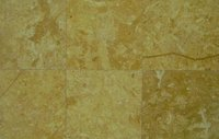 Decorative Yellow Gold Limestone Tile