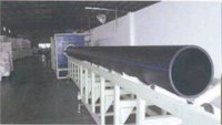 Hdpe Large Diameter Water Service Pipe Extrusion Line