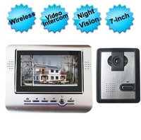 7 Inch Wireless Video Door Phone Intercom System
