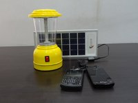 Solar Lantern With Solar Mobile Charger