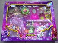 Plastic Toys Barbie Set