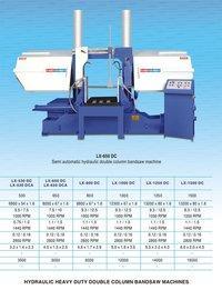 Hydraulic Heavy Duty Double Column Bandsaw Machine