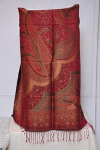 Silk Jamawar Shawl