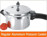Regular Aluminium Pressure Cooker
