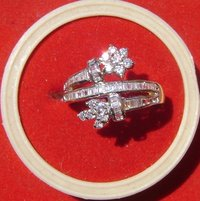 American Diamond Ladies Rings