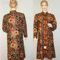 Woolen Embroidered Long Jackets
