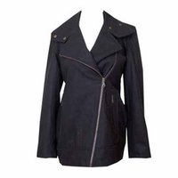 Black Colour Woolen Jacket