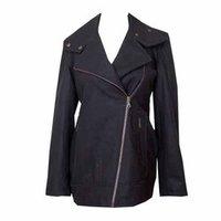 Black Colour Woolen Jacket
