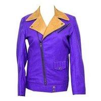 Blue Colour Woolen Jacket