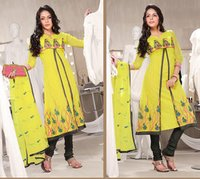 Designer Unstiched Salwar Suits