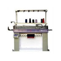 Auto Jacquard Flat Knitting Machines