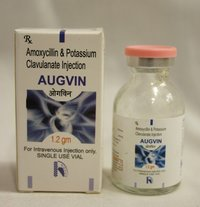 Augvin: Amoxycillin And Potassium Clavulanate Injection