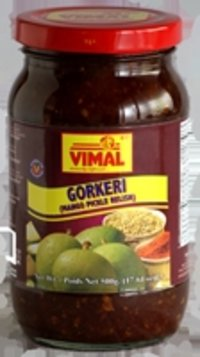 Gorkeri (Mango Pickle Relish)