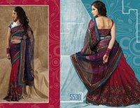 Designer Sequins Work Sarees
