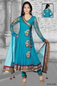 Hand Work Anarkali Suit