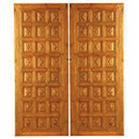 Carved Teak Wood Doors