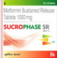 Sucrophase SR: Metformin Sustained Release Tablets