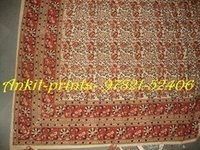 Bagru Hand Block Printed Bed Sheet