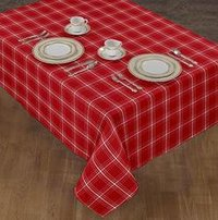 Christmas Check Table Cloth