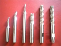 Single And Four Flute H.S.S End Mills