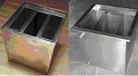 X Ray Film Processing Stainless Steel Tank (3 in 1)