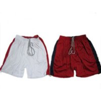 Sport Shorts White & Red