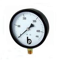 Pressurized Steel Pressure Gauge