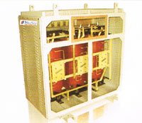 Dry Type Transformer with Off Circuit Tap Links and VPI