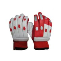 Red Batting Gloves